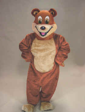 Cartoon Bear Mascot