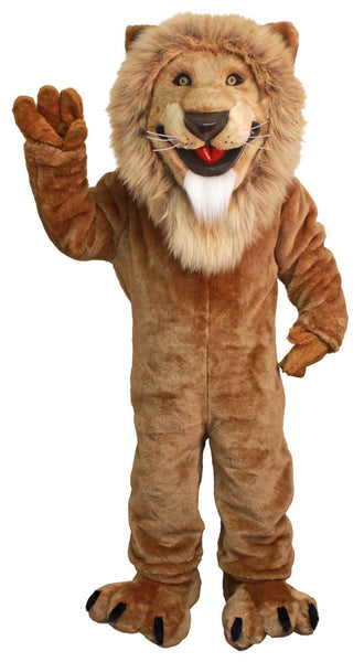 Friendly Lion Mascot CC-007
