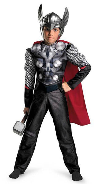 Kids Thor Muscle Costume