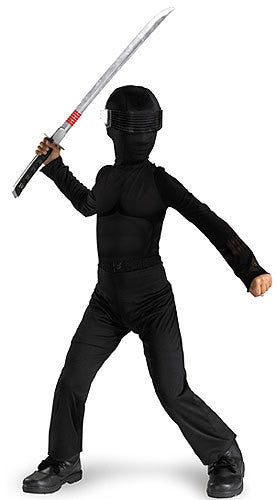 Child Snake Eyes Costume
