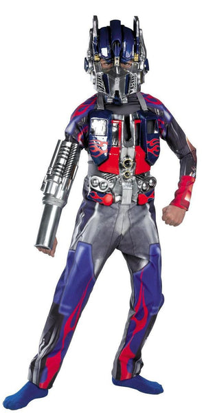 Kids Optimus Prime Deluxe Costume