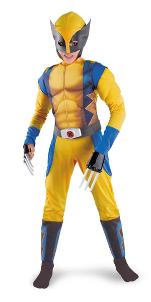 Kids Wolverine Muscle Costume