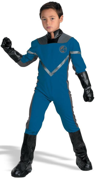 Kids Mr. Fantastic Deluxe Costume