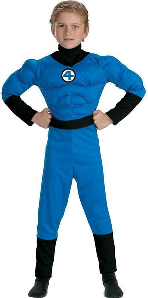 Kids Mr. Fantastic Muscle Deluxe Costume DI-5246