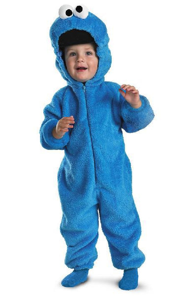 Toddler Cookie Monster Costume - Deluxe Two-Sided Plush