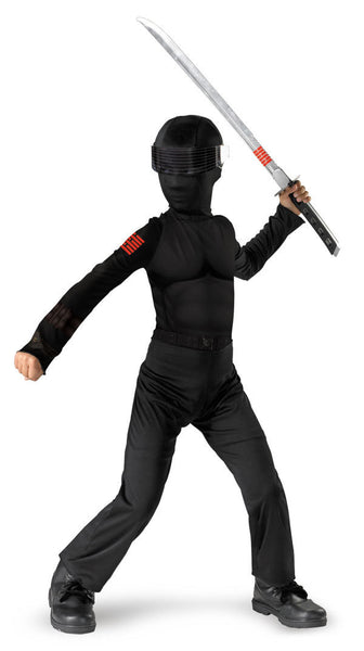 Kids G.I. Joe Snake Eyes Costume