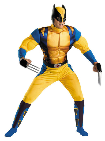 Adult Wolverine Origins Muscle Costume