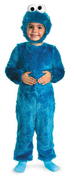 Kids Cookie Monster Comfy Fur Costume