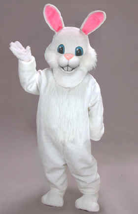 White Rabbit Mascot