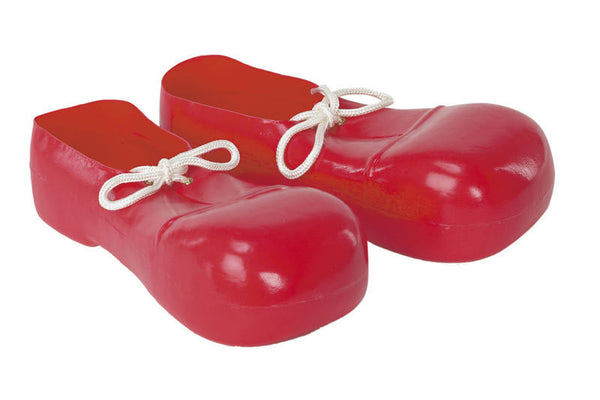 Kids Red Bozo Shoes