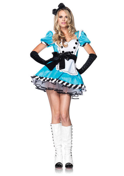 Adult Charming Alice in Wonderland Costume