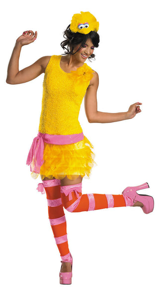 Adult Big Bird Sassy Costume