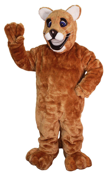 Friendly Cougar Mascot