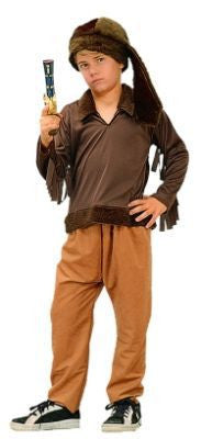 Child Frontier Boy Costume