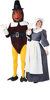 Adult Pilgrim Lady Costume