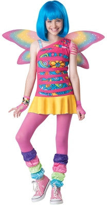 Tween Rainbow Fairy Costume