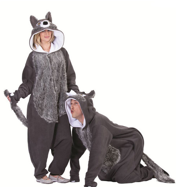 Adult Willie the Wolf Costume