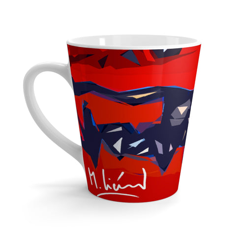 Michel Lienard Limited Edition Art Latte Mug - louisacatharinedesign