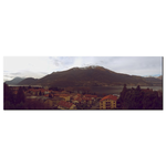 Lake Como Vintage Style Art Full Panoramic - louisacatharinedesign