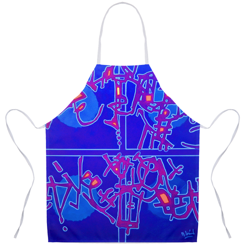 Michel Liénard Contemporary Art Apron - louisacatharinedesign