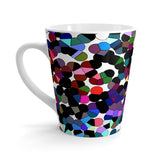 Outer Space Latte Patterned Mug by Louisa Catharine
