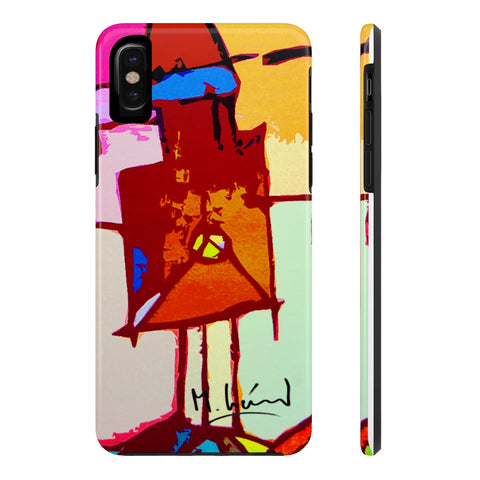 Michel Liénard Contemporary Art Limited Edition Tough Phone Case - louisacatharinedesign