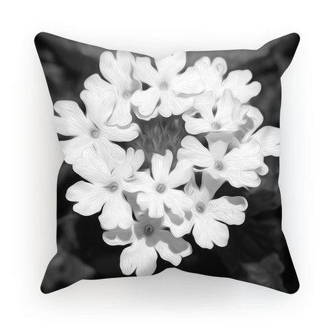 Flower III Adrian Rodriguez Cushion - louisacatharinedesign