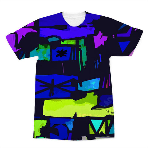Enigma Art Collection Sublimation T-Shirt - louisacatharinedesign