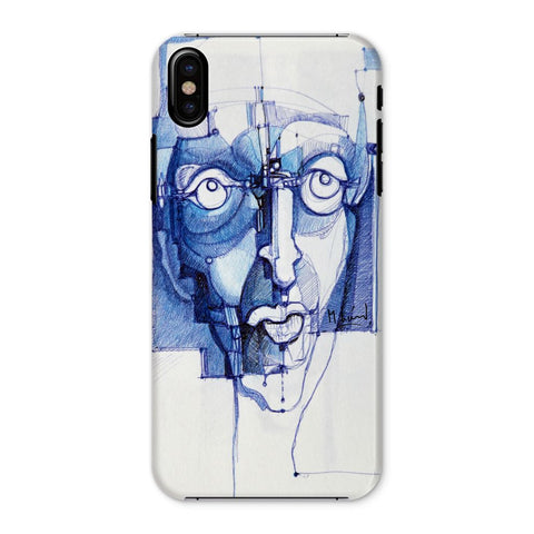 Michel Lienard Denim Art Phone Case - louisacatharinedesign