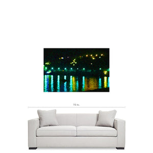 'Life Of The Party Lake Como' Canvas Art by Louisa Catharine