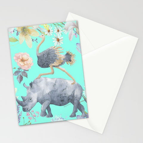 'Best Friends Make All Things Possible' Greeting Card by Louisa Catharine - louisacatharinedesign