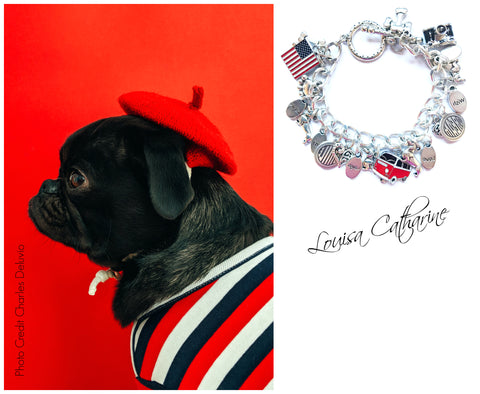 Dog Lovers Charm Bracelet - louisacatharinedesign