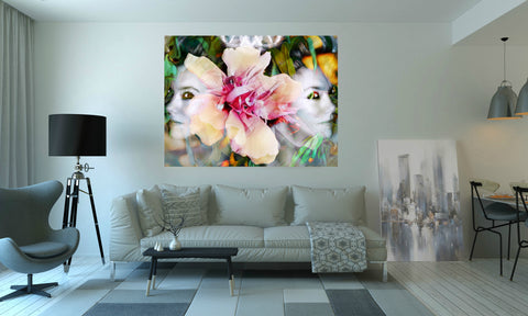 'Double Trouble Iv' Canvas Wall Art - louisacatharinedesign