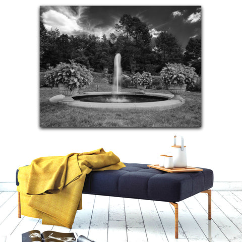 Fountain Visual Wall Art by Adrian Rodriguez - louisacatharinedesign