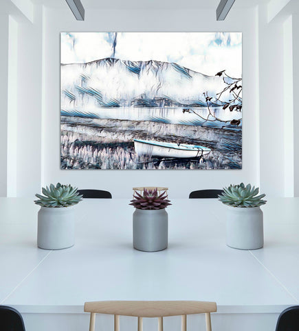 Lake Como Wall Art - louisacatharinedesign