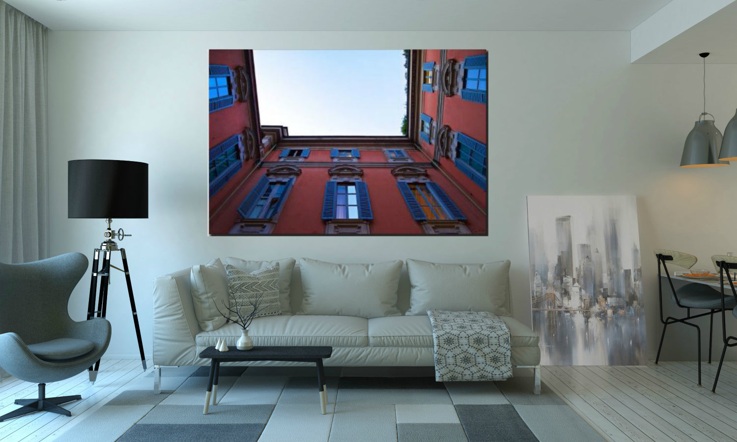'View From Below' Canvas Art