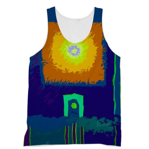 Summer Rays Contemporary Art Vest
