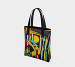Fabrice Plas 'The Pulse Returns' Art Tote Bag - louisacatharinedesign