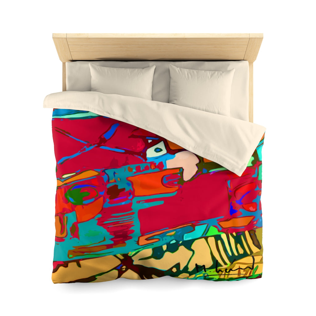 Michel Liénard Limited Edition Contemporary Art Duvet Cover - louisacatharinedesign