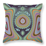 Blowfish Groovy Moves Throw Pillow