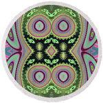 Cactus Love Round Beach Towel - louisacatharinedesign