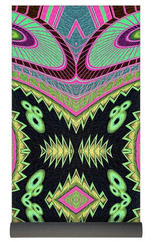 Cactus Love Yoga Mat - louisacatharinedesign