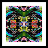 Color Chaos Framed Print - louisacatharinedesign