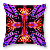 Color Chaos Vi - Throw Pillow
