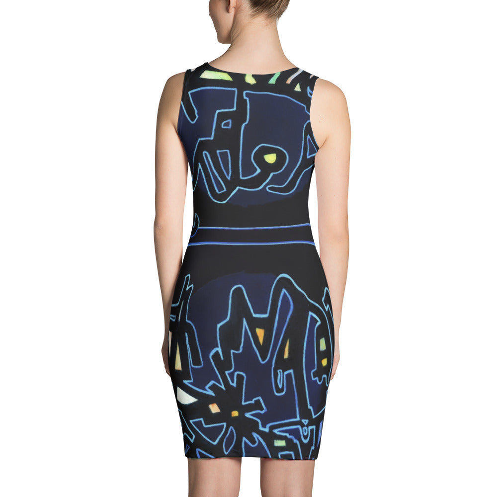 Michel Liénard Limited Edition Art II Fitted Dress - louisacatharinedesign