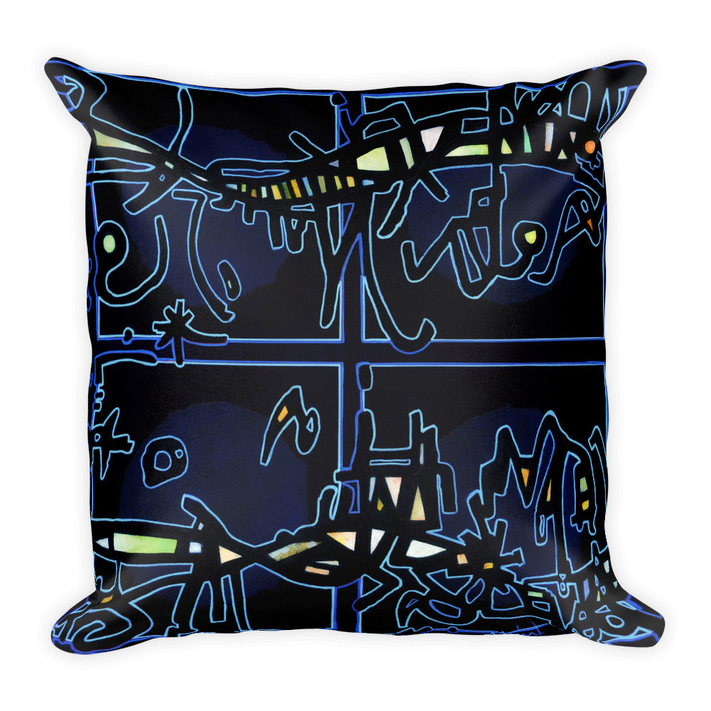 Michel Liénard Limited Edition Art II Square Pillow