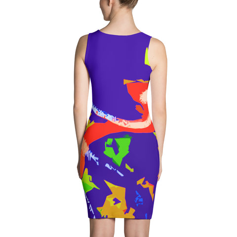 Nadine Lebrun Contemporary Art Dress - louisacatharinedesign