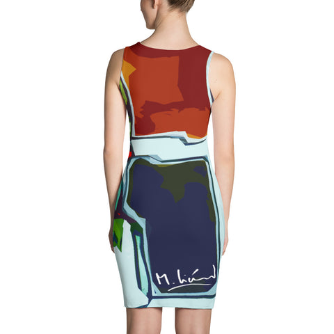 Michel Liénard Limited Edition Art III Fitted Dress - louisacatharinedesign