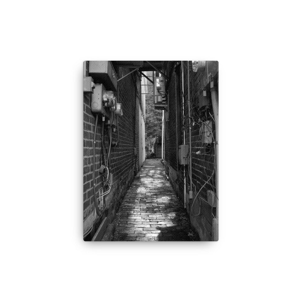 'Alley' Visual Artwork canvas by Adrian Rodriguez