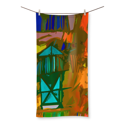 Nature's Hideaway Beach Towel - louisacatharinedesign